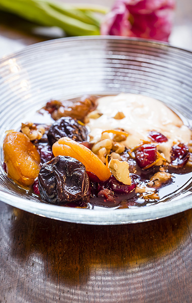 Plumped-Up Fruit Salad with Prunes