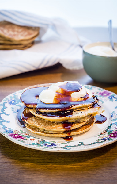 Prune & Orange Pancakes