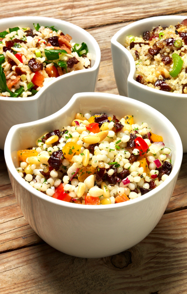 Pearl Couscous and Dried Fruit Salad