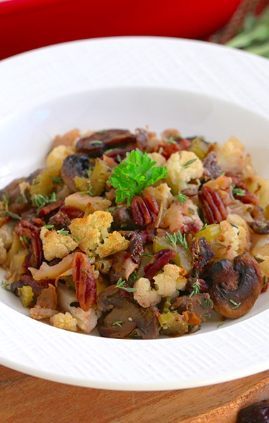 "Cauliflower Date ""Stuffing"""