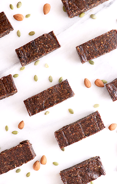 Almond Prune Energy Bars