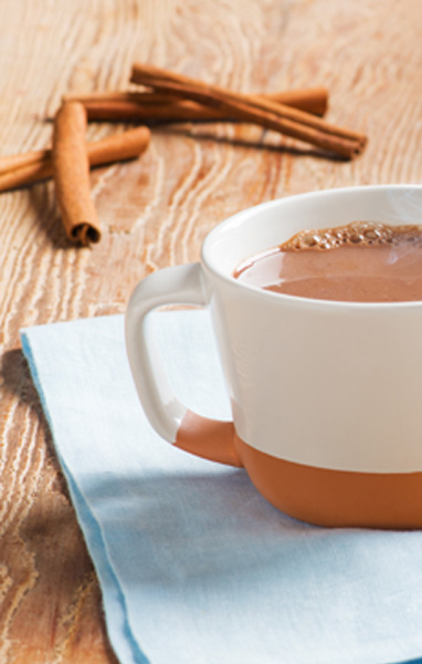 Mexican Spiced Hot Chocolate